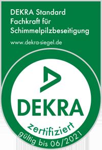 Dekra zertifiziert - Fachkraft für Schimmelpilzbewertung