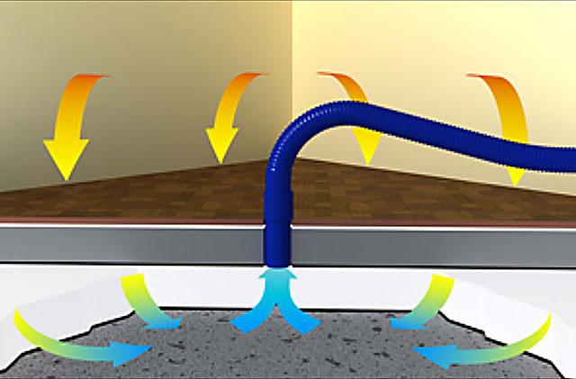 Wasserschaden Beseitigung Grafik